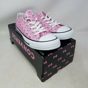 Converse CTAS Ox Prism Pink Womens Sizes 164631F
